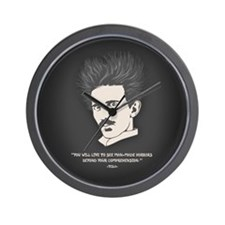 Tesla -Horrors Wall Clock