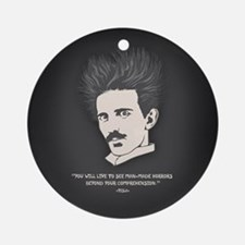 Tesla -Horrors Ornament (Round)