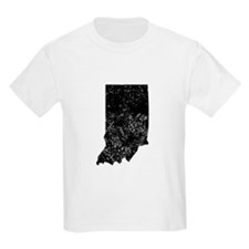 Distressed Indiana Silhouette T-Shirt