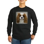 Cavalier King Charles Long Sleeve Dark T-Shirt