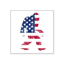 American Bigfoot Sticker