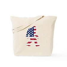 American Bigfoot Tote Bag