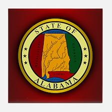 Alabama Seal Tile Coaster