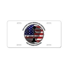 The Nation Which Forgets It Aluminum License Plate