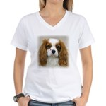Cavalier King Charles Women's V-Neck T-Shirt