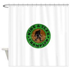 Hide And Seek Champion Shower Curtain