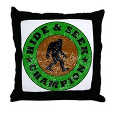 Hide And Seek Champion Throw Pillow