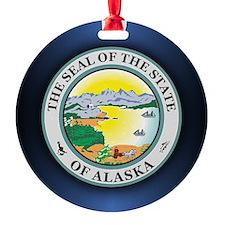 Alaska Seal Ornament