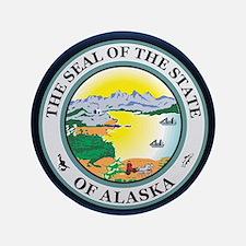 """Alaska Seal 3.5"""" Button"""