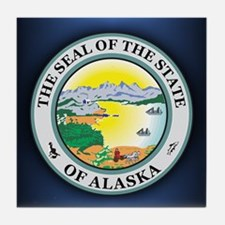 Alaska Seal Tile Coaster