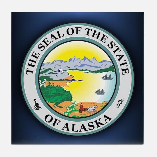 Alaska Seal Tile Coaster