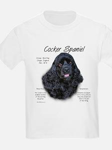 Black Cocker Spaniel T-Shirt