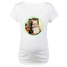 White Maternity Tops Shirt