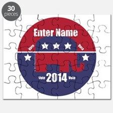 Customizable With Your Candidates Name Puzzle
