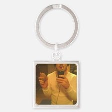 hot potatoe Square Keychain
