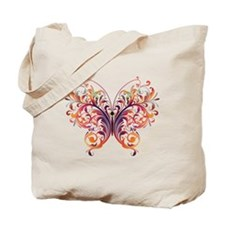 Fantasy Art Butterfly Tote Bag