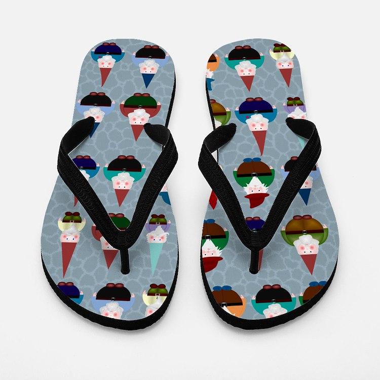 Gnomeses Flip Flops