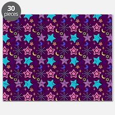 Midnight Stars Pattern Puzzle