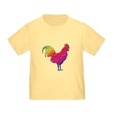 Rainbow rooster T-Shirt