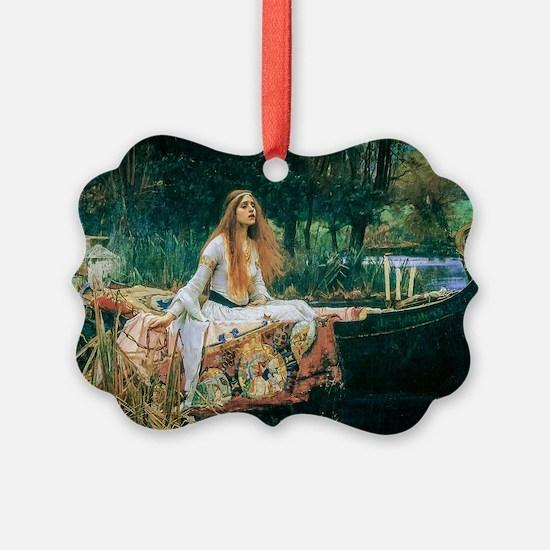Waterhouse: Lady of Shalott Ornament