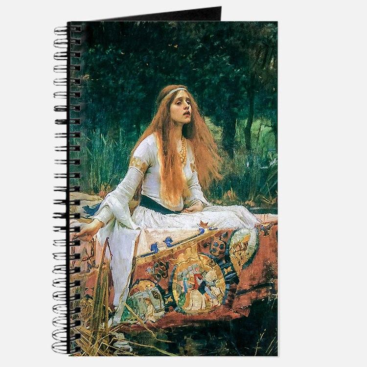 Waterhouse: Lady of Shalott Journal