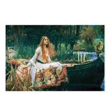 Waterhouse: Lady of Shalo Postcards (Package of 8)