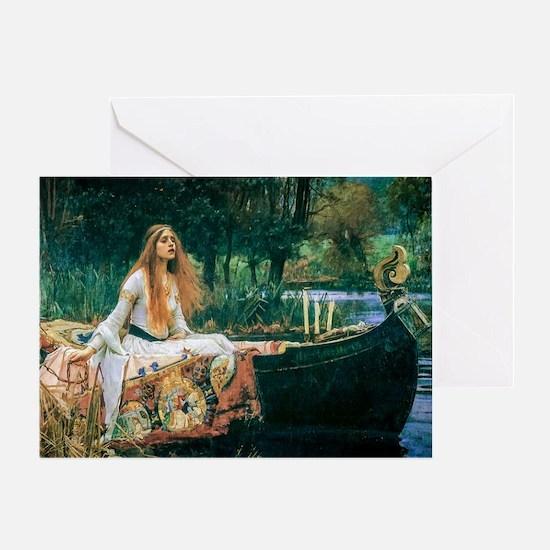 Waterhouse: Lady of Shalott Greeting Card