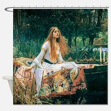 Waterhouse: Lady of Shalott Shower Curtain