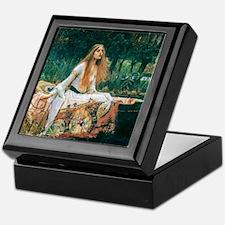 Waterhouse: Lady of Shalott Keepsake Box