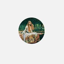Waterhouse: Lady of Shalott Mini Button