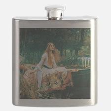 Waterhouse: Lady of Shalott Flask
