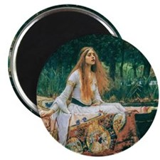 "Waterhouse: Lady of Shalot 2.25"" Magnet (100 pack)"