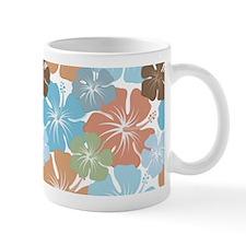Hawaiian Hibiscus Floral Mugs