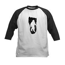 Bigfoot In Footprint Baseball Jersey