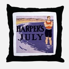 Harpers Hunk Throw Pillow