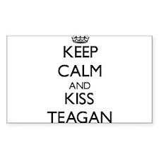 Keep Calm and Kiss Teagan Decal