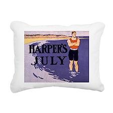 Harpers Hunk Rectangular Canvas Pillow