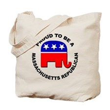 Proud Massachusetts Republican Tote Bag
