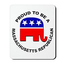 Proud Massachusetts Republican Mousepad