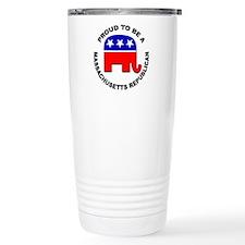 Proud Massachusetts Rep Travel Mug