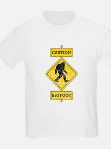 Caution Bigfoot T-Shirt