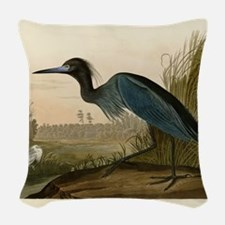 Audubon Blue Crane Heron from Birds of America Wov