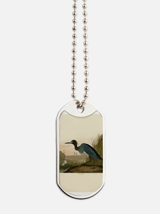 Audubon Blue Crane Heron from Birds of America Dog