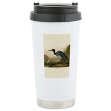 Audubon Blue Crane Heron from Birds of America Tra