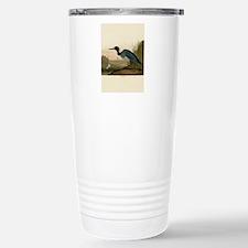 Audubon Blue Crane Heron from Birds of America Tra