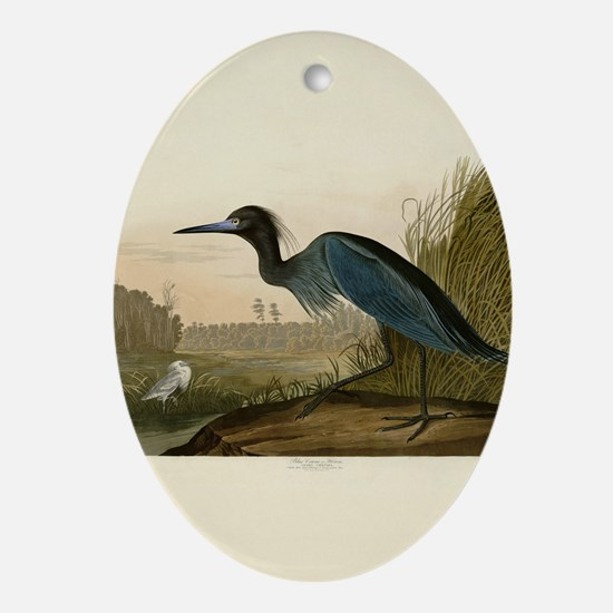 Audubon Blue Crane Heron from Birds of America Orn
