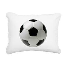 Soccer Ball Rectangular Canvas Pillow