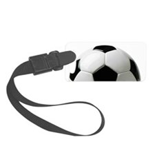 Soccer Ball Luggage Tag