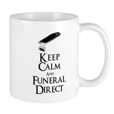 Keep Calm and Funeral Direct Mugs