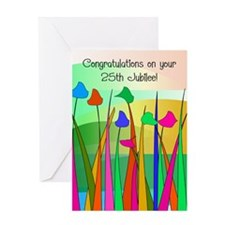 Nuns 25th jubilee 2 Greeting Cards